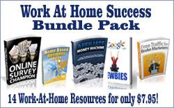 Work At Home Success Bundle Pack