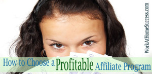 How to Choose a Profitable Affiliate Program