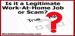 Is it a Legitimate Job or Scam?