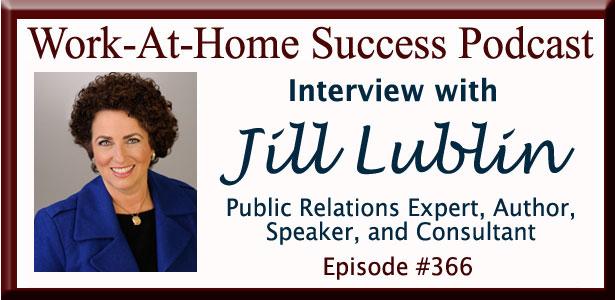 Jill Lublin Public Relations Expert