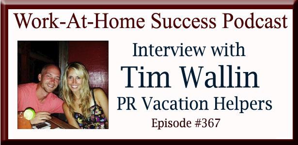 Tim Wallin PR Vacation Helpers
