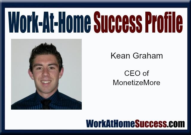 Work-At-Home Success Profile Kean Graham