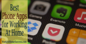 Best Phone Apps for Working At Home