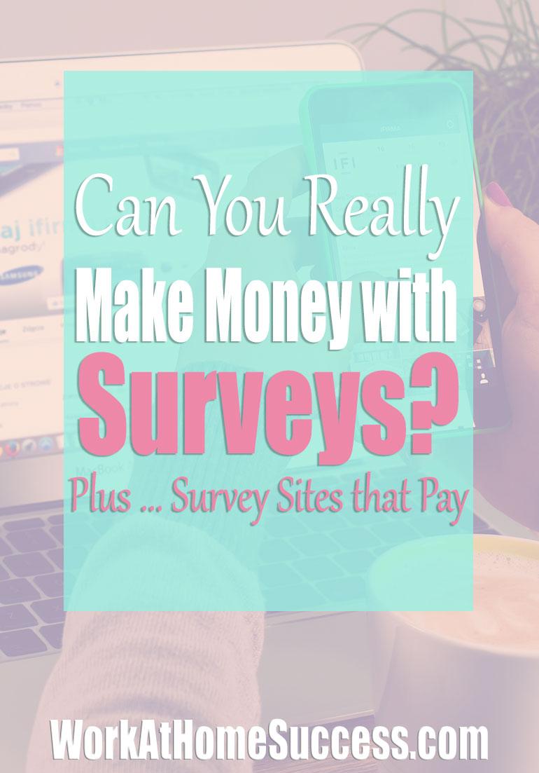 Can You Make Money with Surveys? Plus Survey Sites that Pay