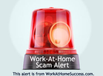 Work-At-Home Success Scam Alert