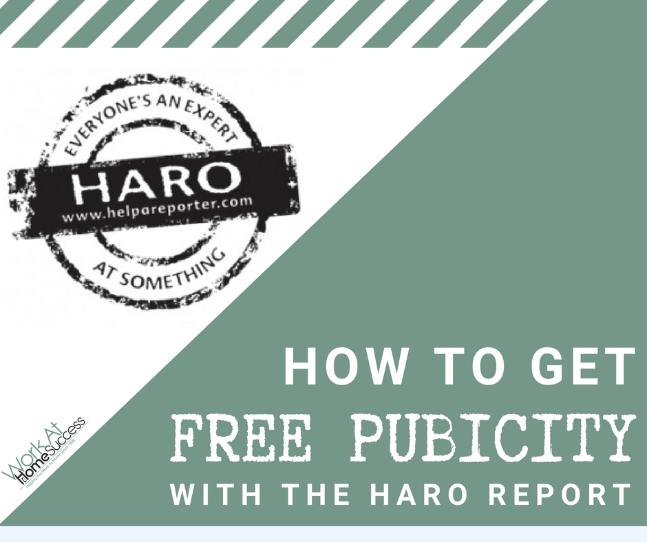 How to Get Free Publicity with the HARO Report