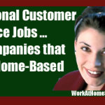 Seasonal Work-At-Home Customer Service Jobs