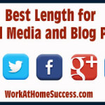 Best Length for Social Media and Blog Posts