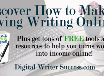 Discover how to make a living writing online
