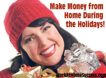 Make Money at Home During the Holidays
