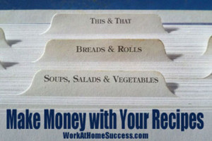 Make Money with Your Recipes