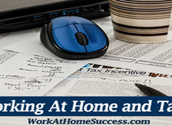 Working At Home and Taxes