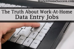 Truth About Data Entry Jobs