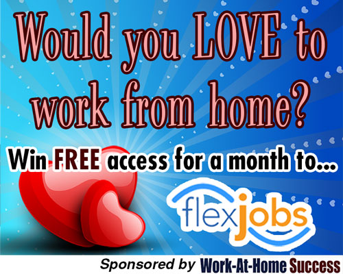 Win 1 Month Access to Flexjobs