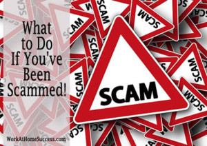 What to do if you've been scammed