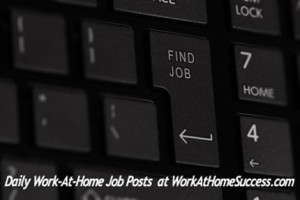 Daily Work-At-Home Jobs