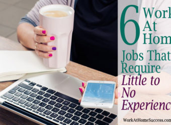 6 Work-At-Home Jobs that Require Little to No Experience