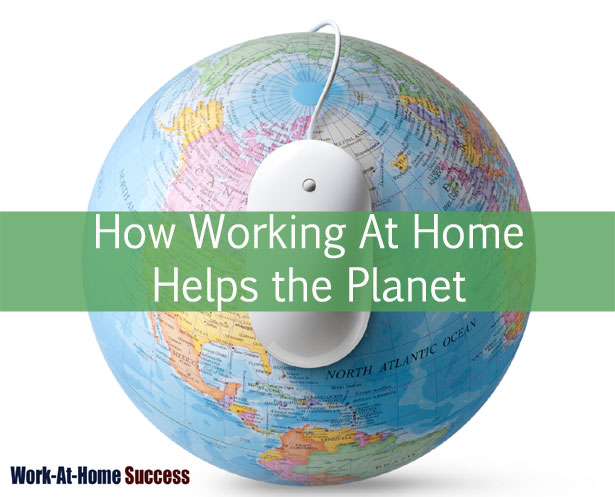 How Working At Home Helps the Planet