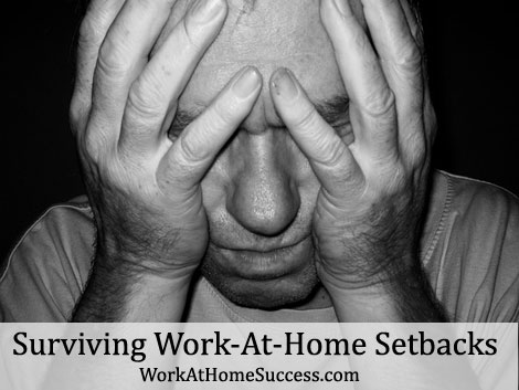 Surviving Work-At-Home Setbacks