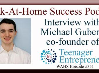 Michael Guberti TeenagerEntrepreneur.com
