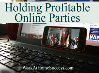 Holding Profitable Online Parties