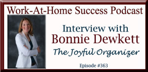 Interview with Bonnie Dewkett The Joyful Organizer