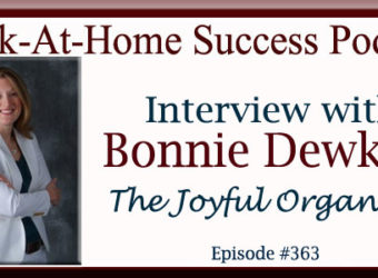 Interview with Bonnie Dewkett The Joyful Organizer