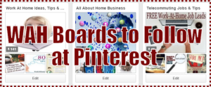 WAH Boards to Follow at Pinterest