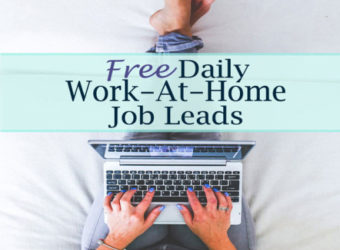 Free Daily Work-At-Home Job Leads