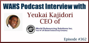 Interview with Yeukai Kajidori of World Outsourcing Solutions
