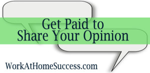 Get Paid to Share Your Opinion