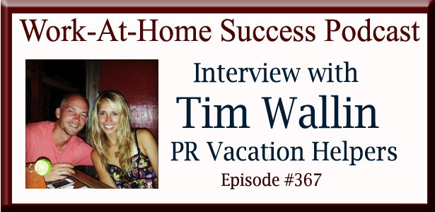 Tim Wallin PR Vacation Helpers