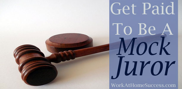 Get Paid to Be an Online Mock Juror
