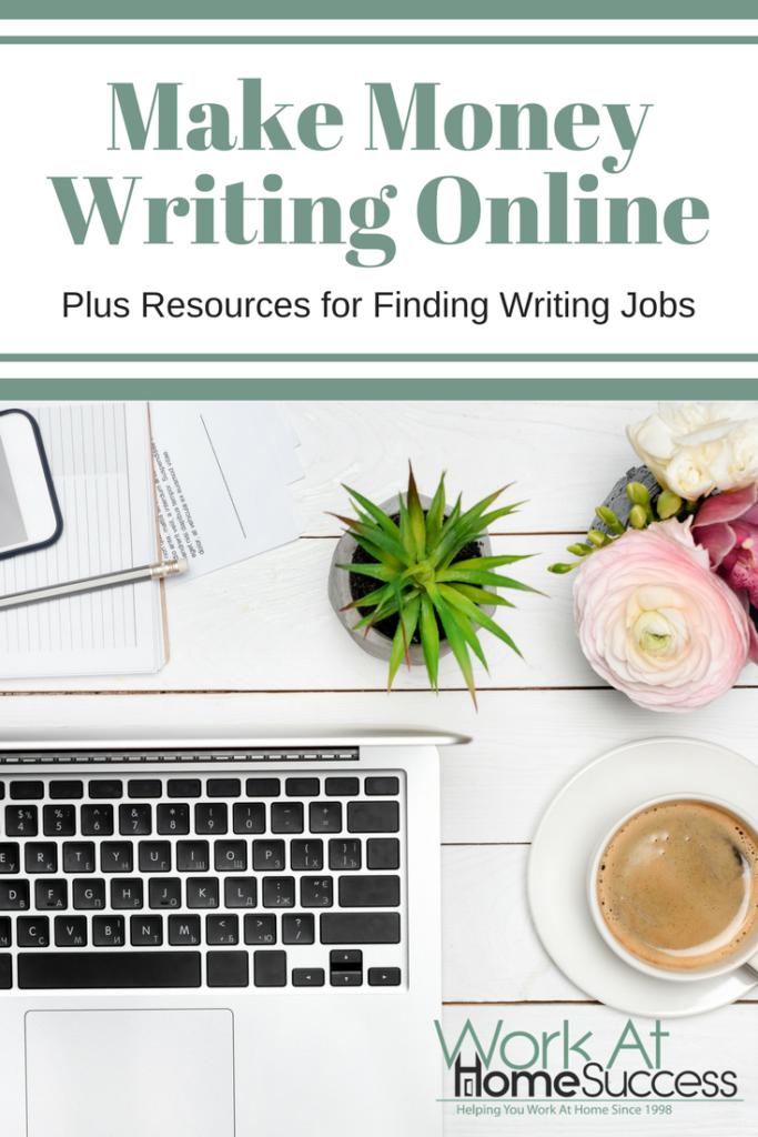 Make Money Writing Online