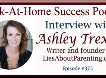 Ashley Trexler, Writer and Founder of LiesAboutParenting.com