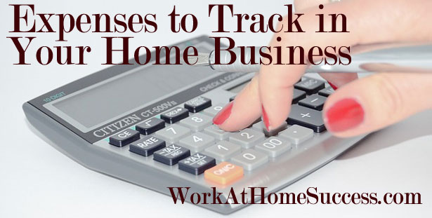 Expenses to Track in Your Home Business