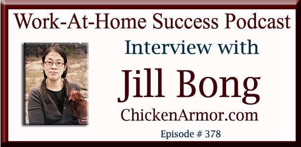 Interview with Jill Bong, Inventor of Chicken Armor
