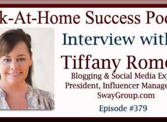 Interview with Tiffany Romero, Blogging and Social Media Expert SwayGroup.com