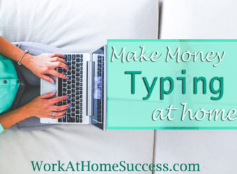 How to Make Money Typing At Home
