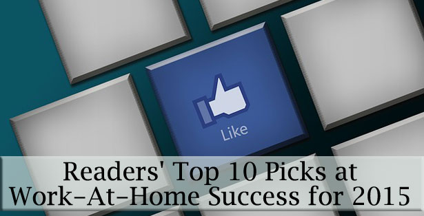 Readers' Top Picks at Work-At-Home Success for 2015