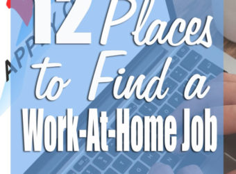 12 Places to Find a Work-At-Home Job