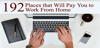 192 Places to Make Money from Home