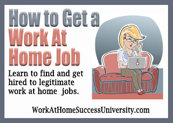 How to Get a Work-At-Home Job