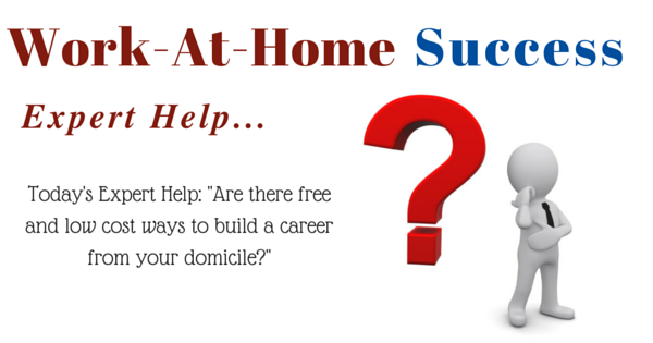 Expert Tips: Are there free and low cost ways to build a career from home?