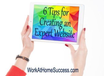 6 Tips for Creating an Expert Website