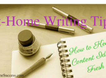 At-Home Writing Tips-