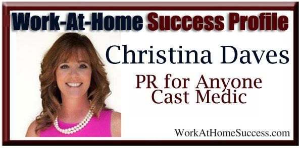 Christina Daves PR for Anyone Cast Medic