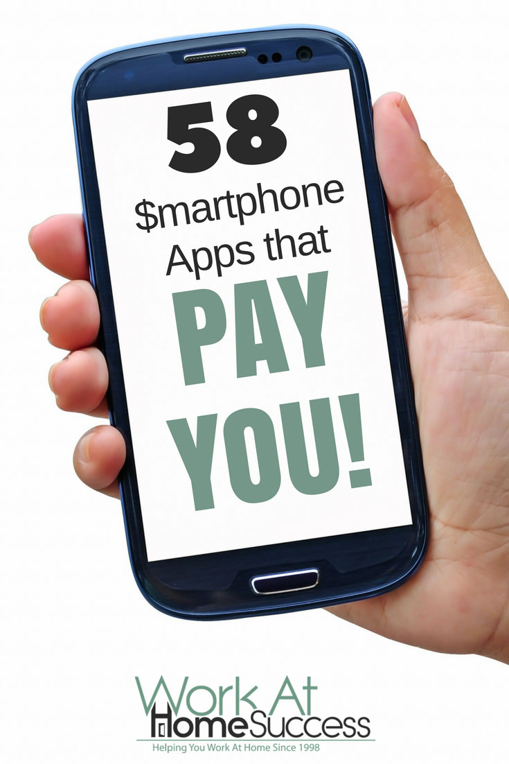 Make extra money doing things you're already doing. Here are 58 smartphone apps that pay you.