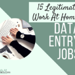 15 Real Data Entry Jobs from Home