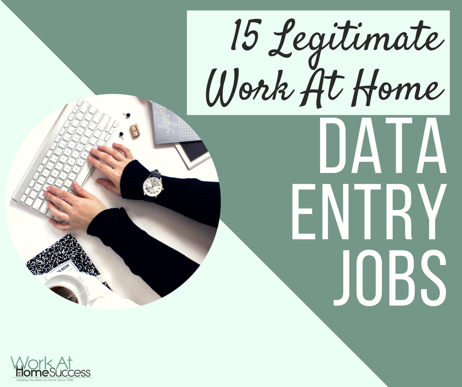legitimate data entry work from home jobs 15 legitimate work at home data entry jobs work at home 7470